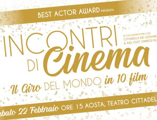 """""""Incontri di Cinema – Il Giro del Mondo in 10 Film"""""""